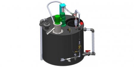Sodimix - cистема приготовления суспензии активированного угля